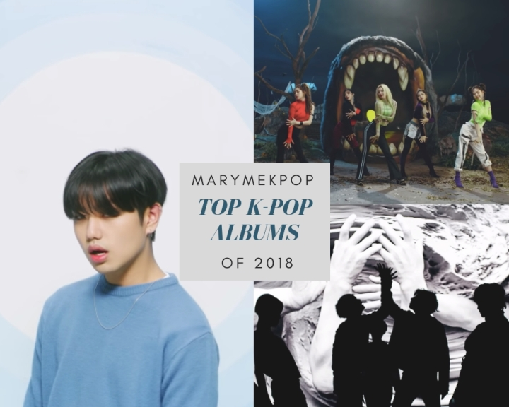 MaryMeKpop: Top K-Pop Albums of 2018 (pt. 2/3)
